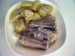comment cuisiner la saumonette recette de roussette à la moutarde à l ancienne