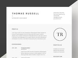 Curriculum Vitae Resume Samples by Thomas Russell Resume Cv Template Resume Templates Creative