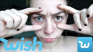 stores that sell contact lenses for halloween contacts from wish 2nd try youtube
