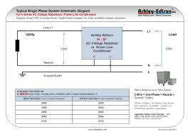 outdoor single phase voltage stabilisers ses series