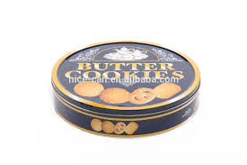 custom gift food biscuit tin can box wholesale empty cookie