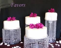 glamorous cake stand etsy