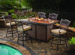 Firepit Tables Outdoor Pit Table And Chairs Marceladick