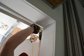 Replacing A Garage Door How To Install Garage Door Weather Stripping Garage Door Stuff