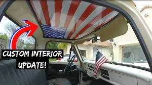 Confederate Flag Decals Truck F100 Interior Upgrade Youtube