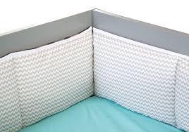 Grey Chevron Crib Bedding Set Seashore Waves 3 Piece Crib Bedding Set Trend Lab