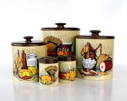 Vintage Kitchen Canister Sets 28 Metal Kitchen Canister Sets Italian Metal Kitchen