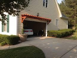 eastern red cedar garage pergola by mattnc lumberjocks com