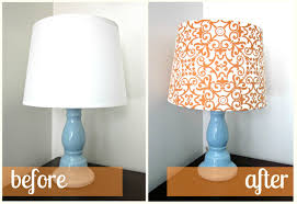 diy fabric lampshade recover tutorial six sisters u0027 stuff