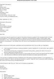 personal assistant cover letter 28 images personal assistant