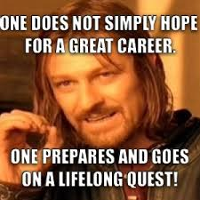 Career Meme - career advice career readiness memes pinterest career advice