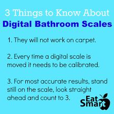 Most Accurate Digital Bathroom Scale Three Things To Know About Digital Bathroom Scales U2013 The Eatsmart Blog