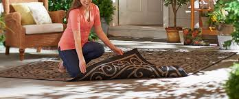 Qvc Outdoor Rugs Qvc Veranda Living Naturals Indoor Outdoor Reversible Scroll Rug
