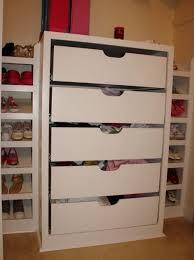 drawers for closet organizer storage ideas