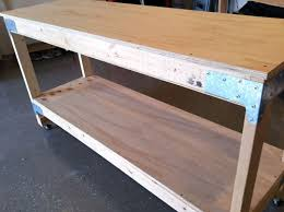 Solid Core Door Desk How To Make A Work Bench The Art Of Manliness