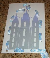 mormon share michelle u0027s temple sewing card
