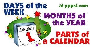 free powerpoint presentations about days months u0026 weeks for kids