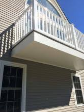 cantilevered deck cantilevered deck kates construction associates