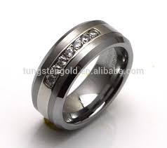 cincin tungsten carbide tungsten carbide wedding rings perhiasan utama bahan dipoles