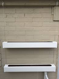 Hanging Planter Boxes by Vinyl Post Hanging Planter Boxes 17 Steps With Pictures