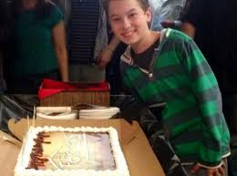 image hayden byerly the fosters set birthday cake oct 12 2013 1