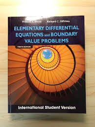 elementary diffeial equations and boundary value problems 10th edition