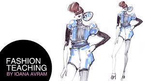easy fashion design drawing youtube