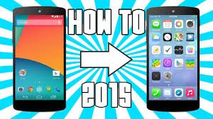 make android look like iphone works 2015 how to make your android look like an iphone no root