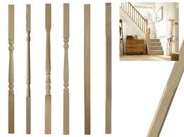 Spindles For Banisters Special Offers On White Oak Stairparts Handrail Spindles Balusters