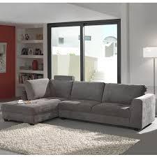 canape angle gris canapé d angle gris capitonné en tissu sofamobili