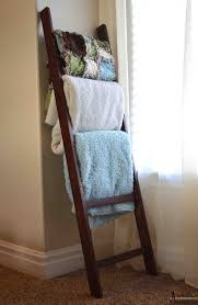 remodelaholic 9 cool wood projects november link party diy blanket ladders lolly jane