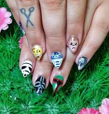 kawaii klaws star wars nail art netherworld