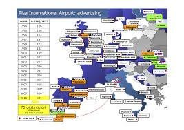 Cities In Italy Map by Pisa Airport With Its 16 Uk Destinations Is One Of The Best In