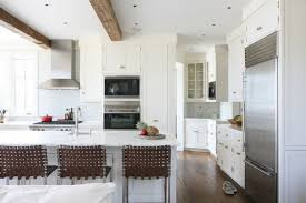 white brown kitchen decoration using modern dark brown wicker