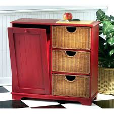 built in trash can cabinet under cabinet trash can awesome pull out built in trash cans cabinet