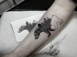 40 creative u0026 unique landscape animal tattoo designs tattooblend