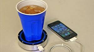 this coaster can charge your phone