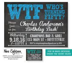 birthday invites cozy 50th birthday invitation ideas 50th