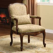 Fabric Accent Chair Furniture Of America Barriston Padded Fabric Accent Chair Free