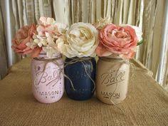 Rustic Mason Jar Centerpieces For Weddings by Mason Jars Ball Jars Painted Mason Jars Flower Vases Rustic