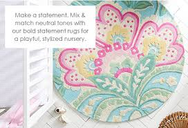 girls bedroom rugs girls bedroom area and round rugs pottery barn kids