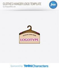 clothes hanger logo template free logo design templates