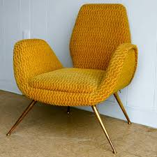 Legs For Armchairs 1950 U0027s Italian Chair With Splayed Brass Legs For Sale At 1stdibs