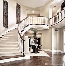 indoor staircase backdrop photography luxury house wedding photo