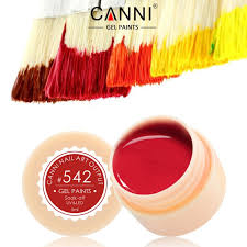 50618 new 2017 canni nail art tips design manicure141 color uv led