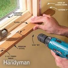 How To Install Interior Door Casing How To Install Craftsman Trim Family Handyman