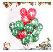 helium filled balloons delivered balloon christmas decorations 12 inch balloon party