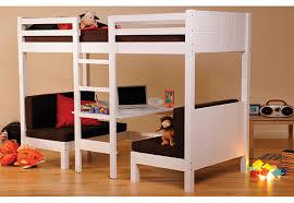 Loft Bed With Futon Chair Black Metal Twin Futon Loft Bunk Bed - Kids novelty bunk beds