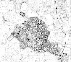 gimson s canberra plan kurrajong is chosen as the site for the houses of parliament as being the most prominent and dominating position in the city area and the eight public