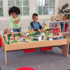 kidkraft waterfall mountain train set and table directions kidkraft waterfall mountain train set and table toys r us